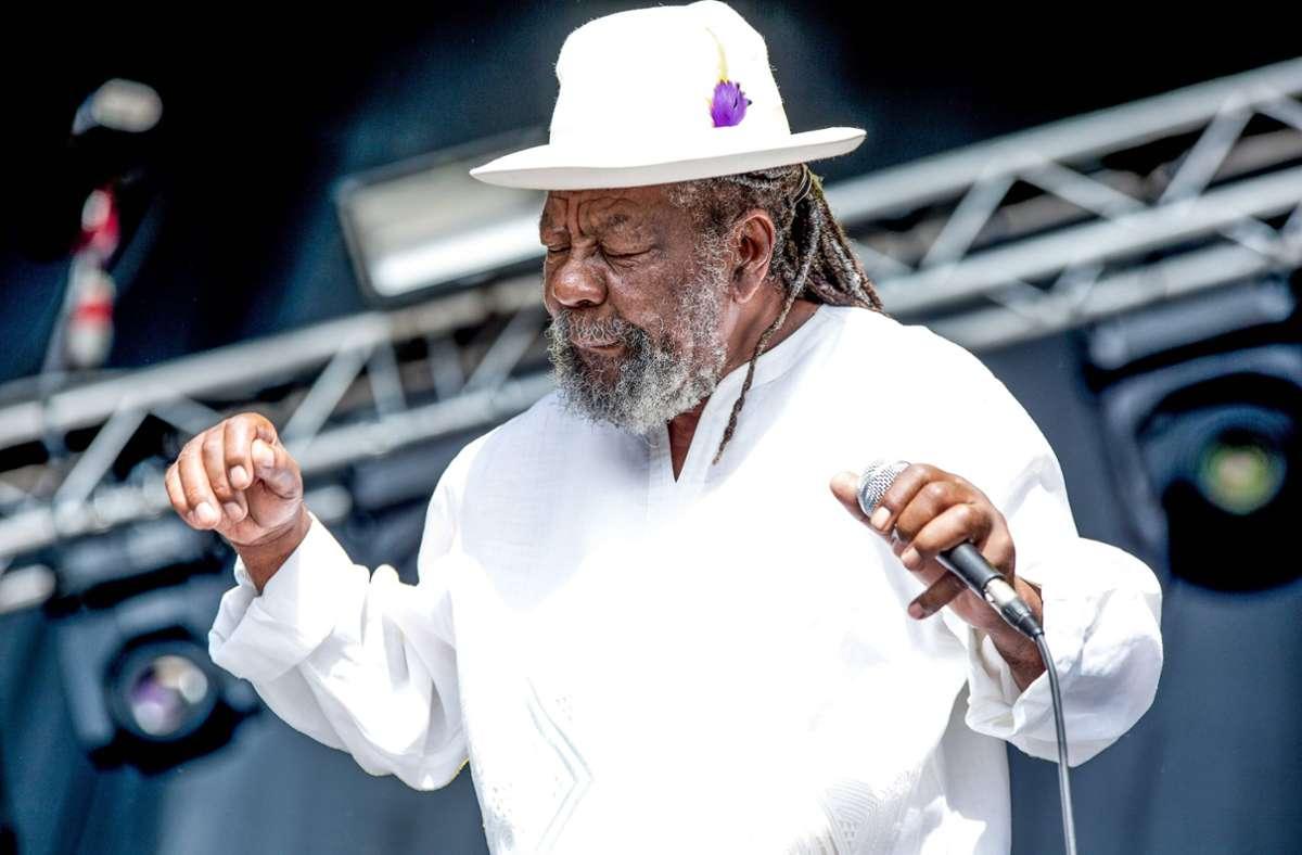 U-Roy blieb auch im Alter ein charismatischer Musiker. Foto: imago images/Le Pictorium/Michael Bune