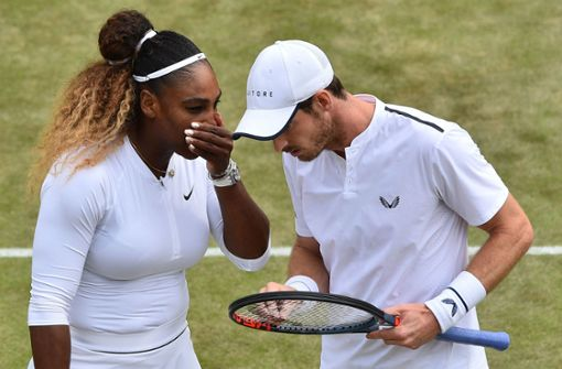 Andy Murray und Serena Williams scheiden aus