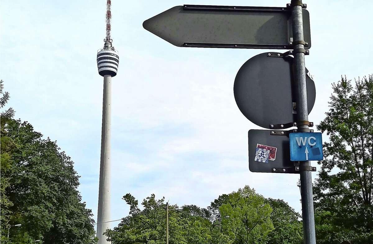 Der Fernsehturm ist ein beliebter Sex-Treff für Männer. Foto: Jacqueline Fritsch