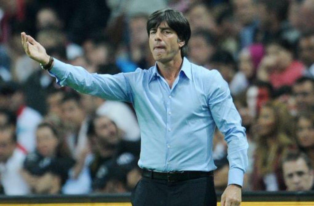 Bundestrainer Joachim Löw hat die folgenden 27 Spieler in den vorläufigen EM-Kader berufen: Foto: dapd