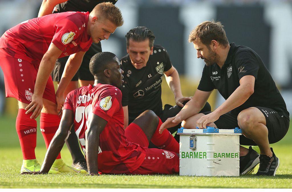 Der VfB Stuttgart muss für Wochen auf Orel Mangala verzichten. Foto: Pressefoto Baumann