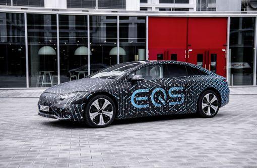"""Daimler will mit dem EQS  im """"Kampf der Welten"""" bestehen"""
