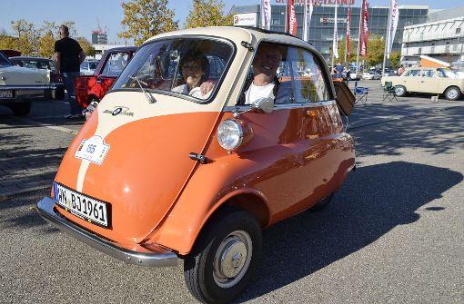 Oldtimer-Treffen lockt Liebhaber alter Autos nach Ludwigsburg