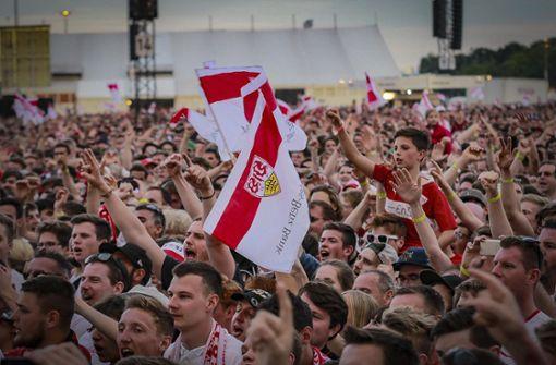 Wie die Stuttgarter vor drei Jahren den Aufstieg gefeiert haben