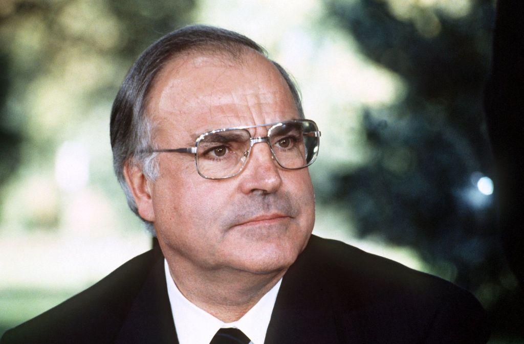 Helmut Kohl (hier ein Foto aus dem Jahr 1982) ist im Alter von 87 Jahren gestorben. Foto: dpa
