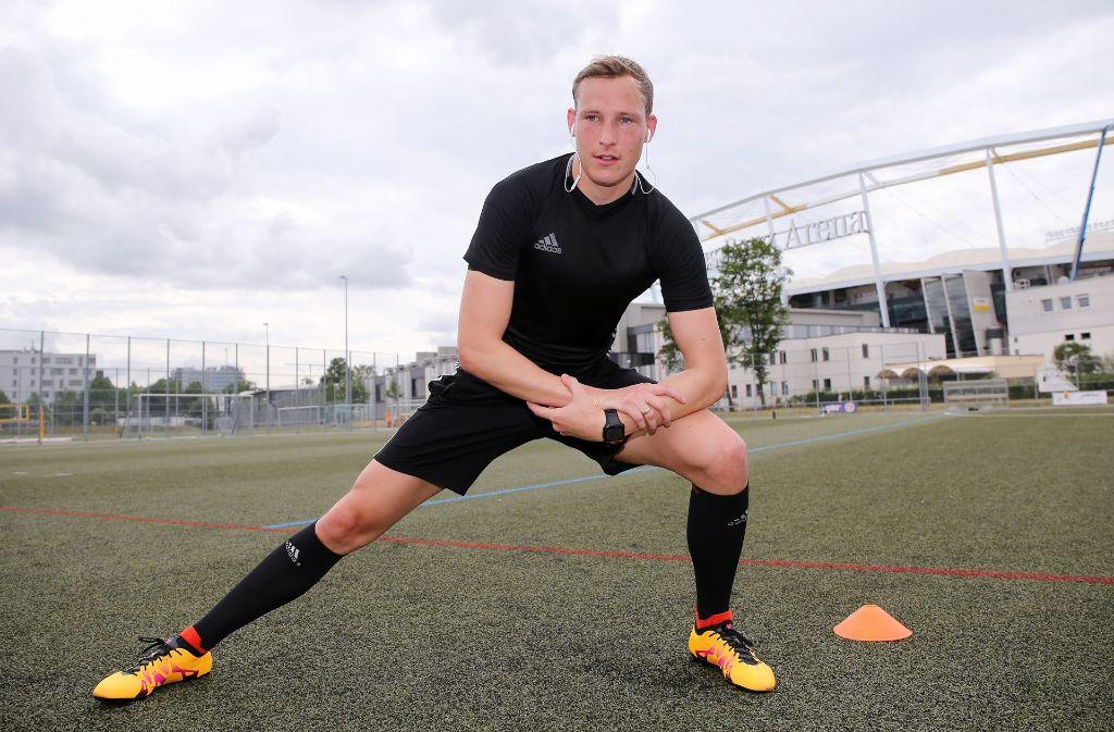 Macht sich fit für die Bundesliga: Schiedsrichter Martin Petersen. Foto: Baumann
