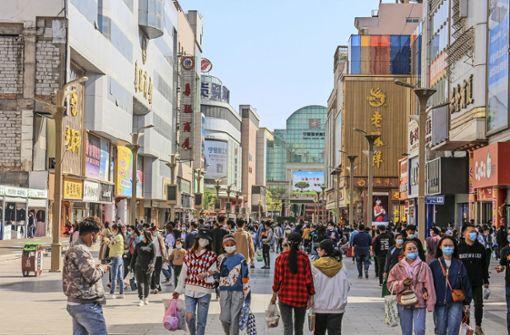 Chinas Wirtschaft zieht wieder an