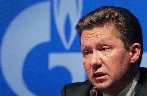 Gazprom pocht auf Vertragstreue