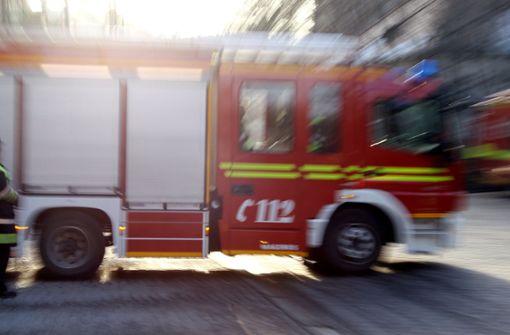 Arbeiter bei Brand verletzt