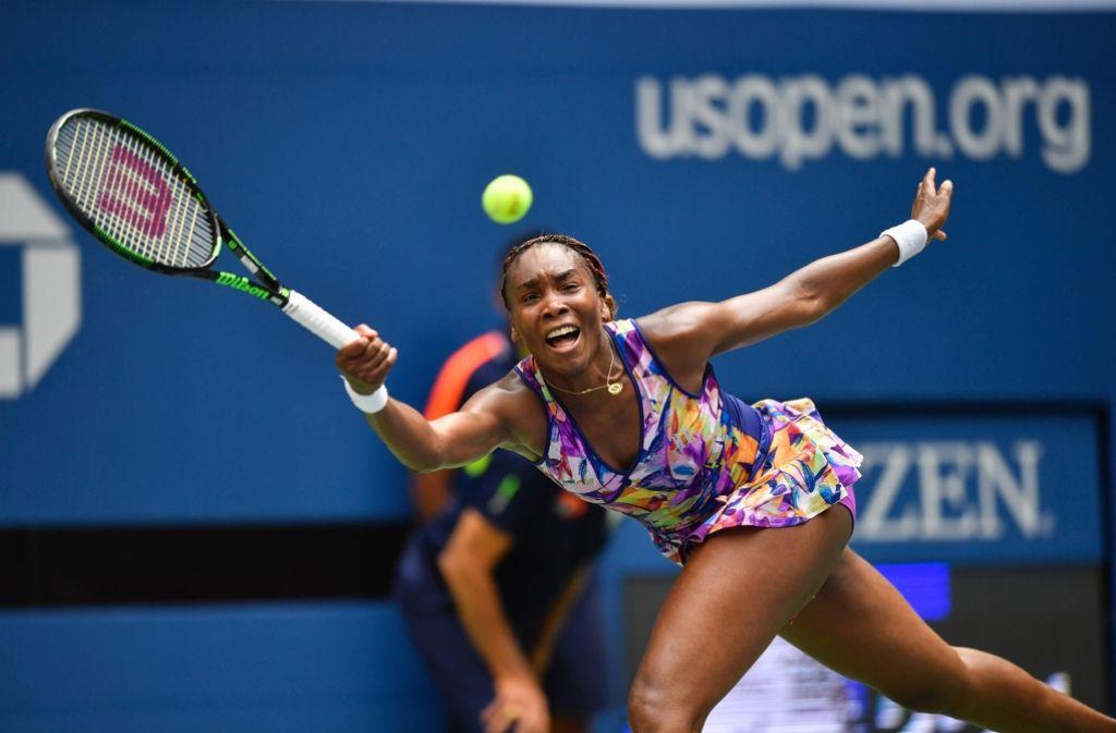 Venus Williams ist bei den US Open raus. Foto: AFP