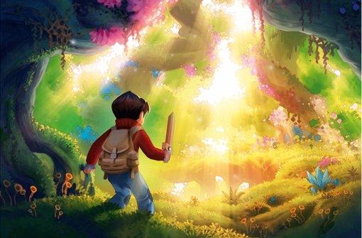 Jonas, der Held des Comics, entdeckt eine zauberhafte Märchenwelt. Foto: Lieske