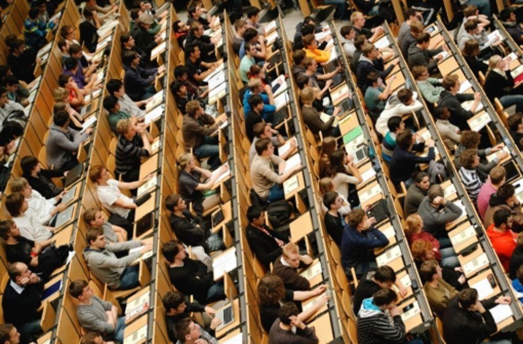 Universit ten in baden w rttemberg unis r sten sich gegen for Universitaten deutschland