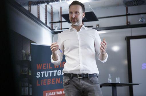 """Ein OB-Kandidat gegen Stuttgarts """"Stillstand"""""""