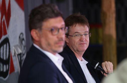 Claus Vogt gegen Pierre-Enric Steiger: Hält die Ruhe im Wahlkampf?