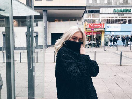 Jungdesignerin Rabia Cimen mag Maske