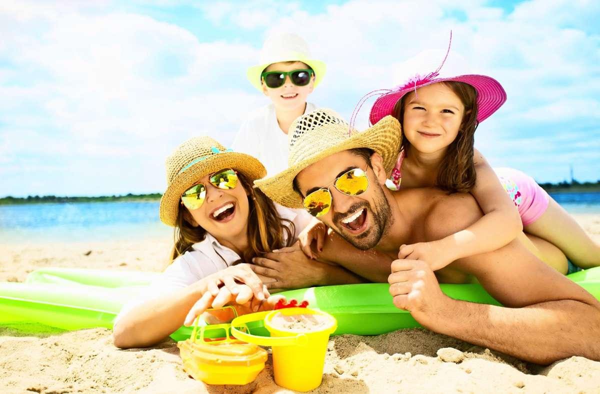 Familien dürfen sich freuen: die Bundesregierung erleichtert die Reiseregelungen. Foto: drubig-photo - Adobe Stock/Diana_Drubig