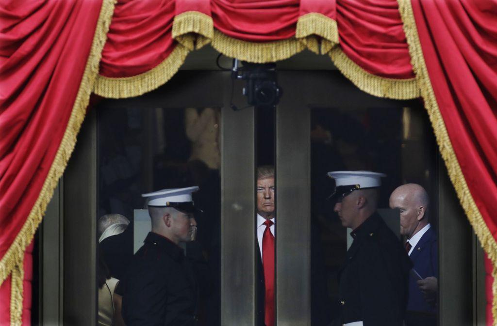 Dass Trump einmal die weltpolitische Bühne betreten würde, damit hatten viele   nicht gerechnet. Foto: AP