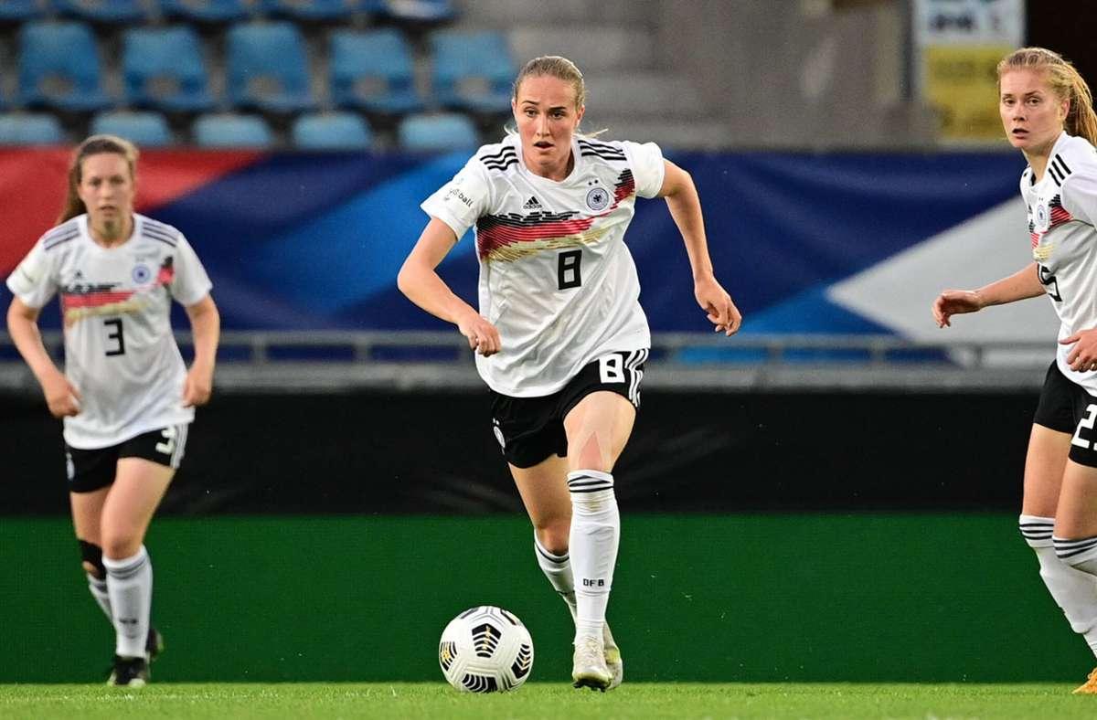 Die DFB-Frauen verlieren gegen Frankreich Foto: imago images/Revierfoto/Revierfoto via www.imago-images.de