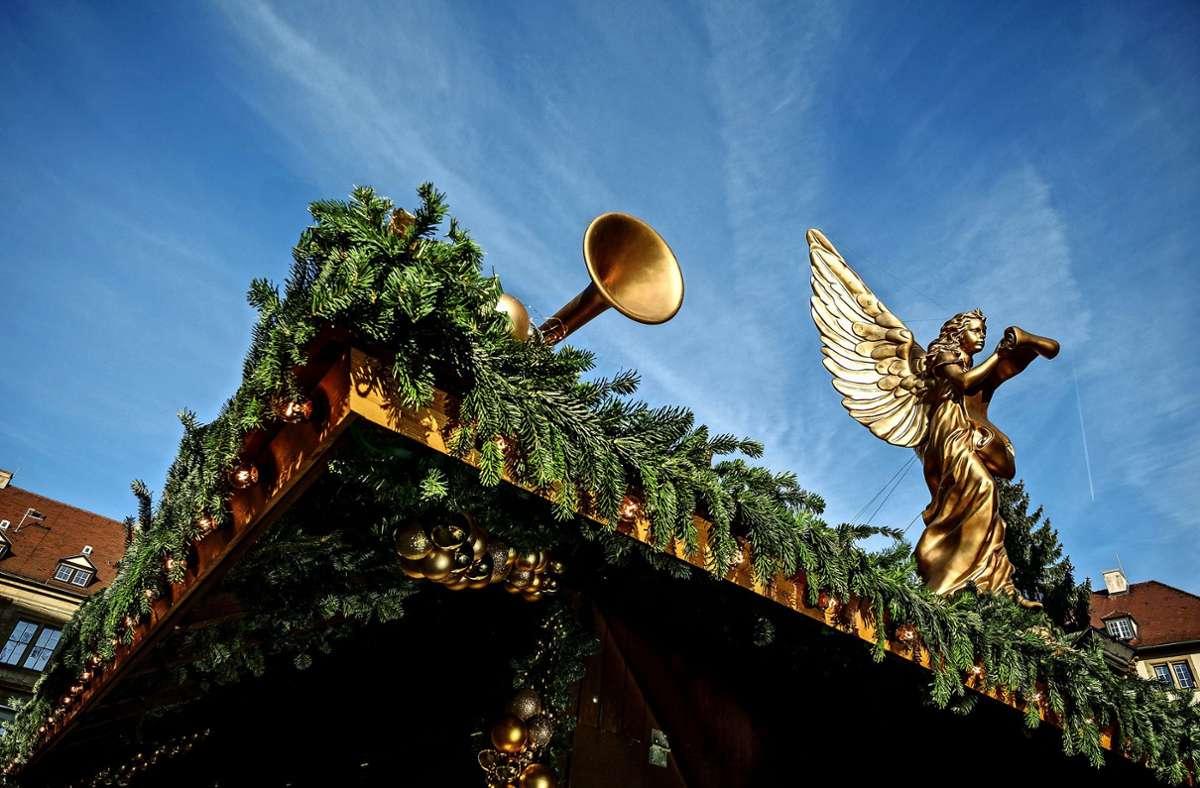 Ob und wo es die festlich geschmückten Buden in diesem Jahr auf der Filderebene gibt, ist noch unklar. Foto: Leif Piechowski/Lichtgut
