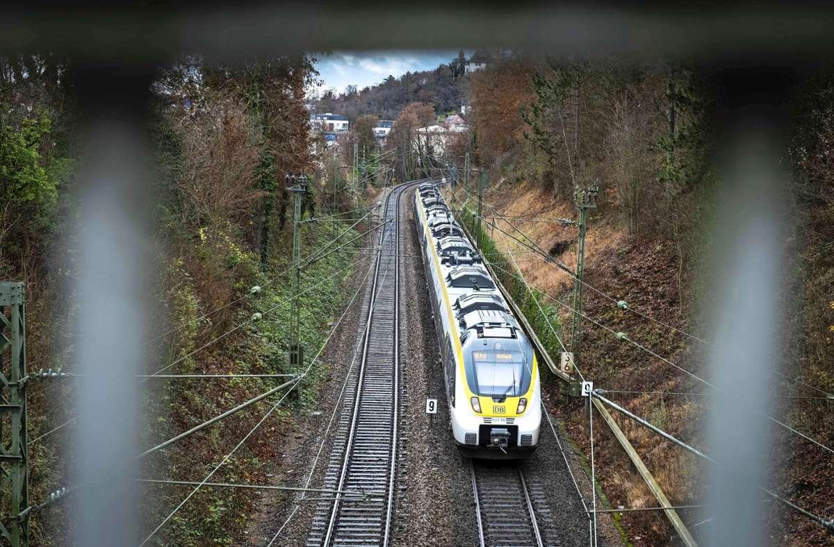 Welchen Weg nimmt die Gäubahn künftig in die Stuttgarter Stadtmitte? Foto: Lg/Zweygarth