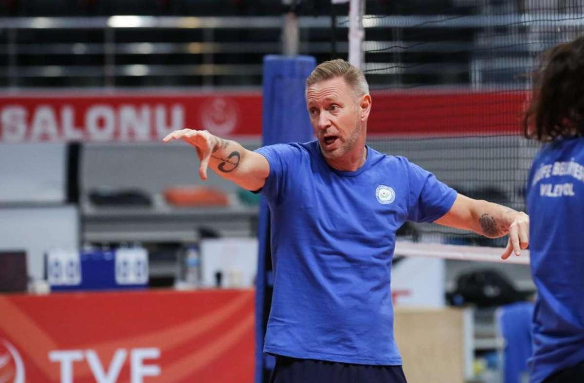 Allianz MTV Stuttgart hat einen neuen Cheftrainer: Tore Aleksandersen. Foto: Allianz MTV Stuttgart
