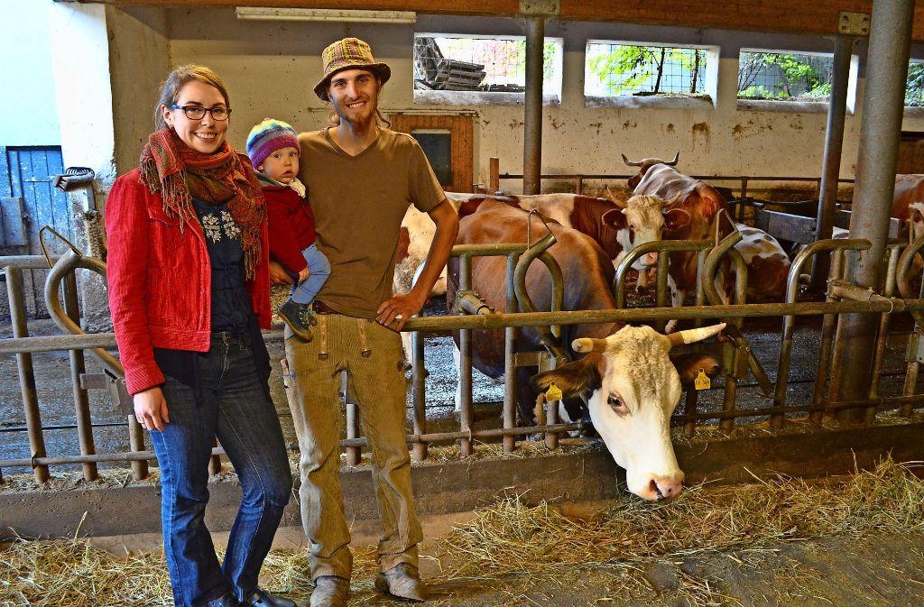 Die Familie Dreyer tritt die Hofnachfolge des Ehepaars Simpfendörfer an. Foto: Wiebke Wetschera