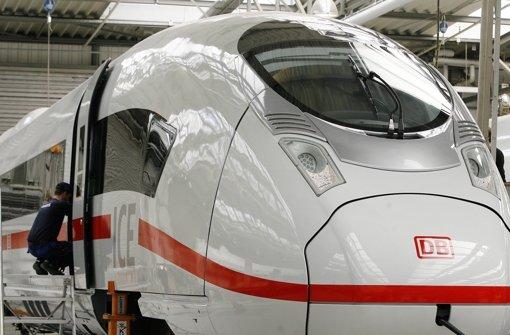 Siemens liefert ICE zwei Jahre verspätet