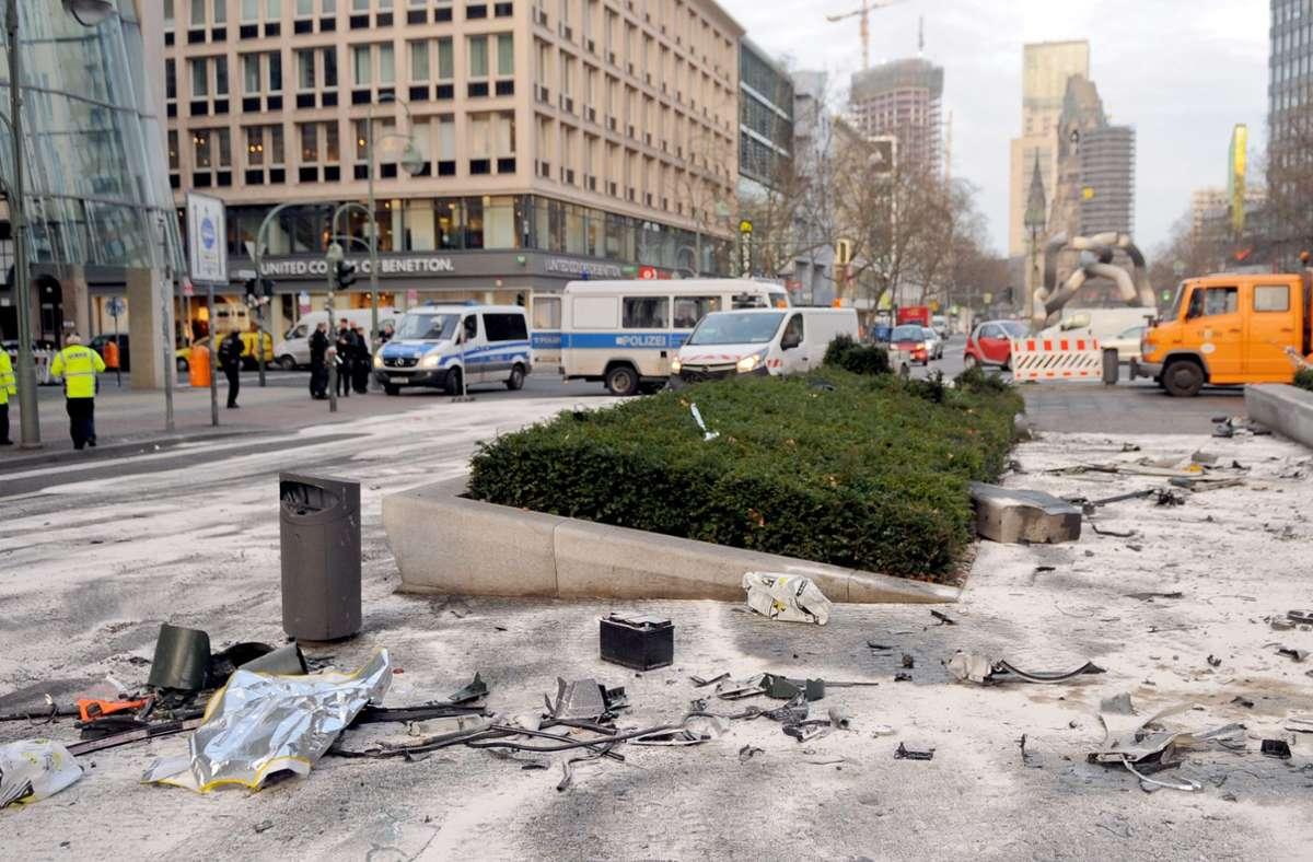 In Berlin lieferten sich die Raser ein Rennen – ein Mensch starb. Foto: dpa/Britta Pedersen