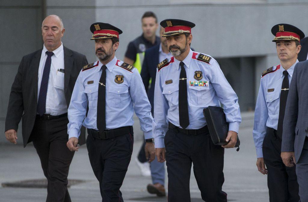 Justizkreise: Staatsanwaltschaft beantragt U-Haft für katalanischen Polizeichef