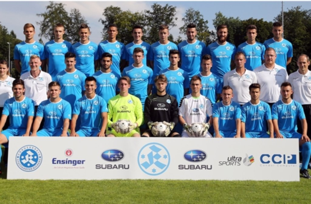 Die U23 der Stuttgarter Kickers bezwingt den SSV Reutlingen. Foto: Pressefoto Baumann