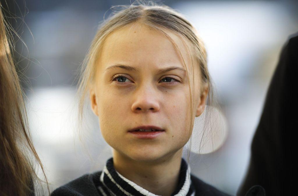 Greta Thunberg ist eine von vier Empfängern des Right Livelihood Award 2019 Foto: AP/Markus Schreiber