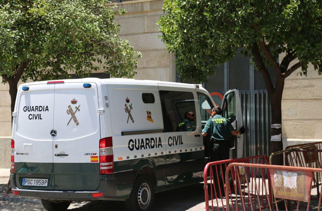 Der Soldat wurde in Sevilla festgenommen. Foto: María José López/Europa Press