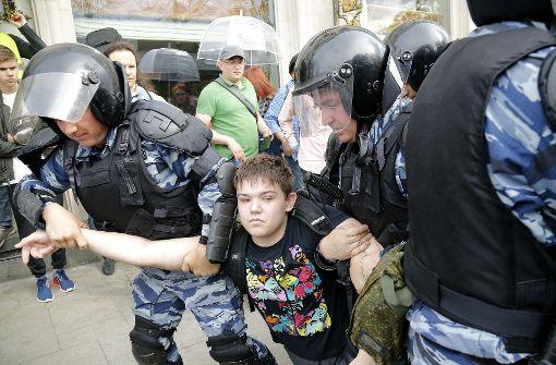 Justiz verhängt Arrest-Strafen nach Protest