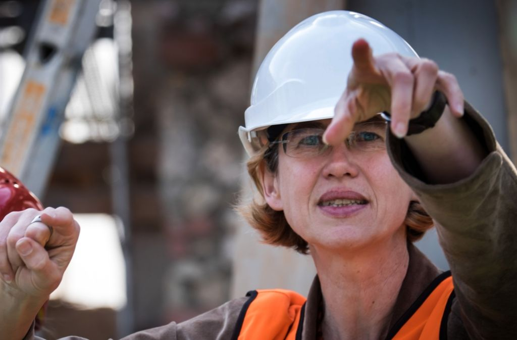 Zeigte bisher, wo's langgeht: Anja Dauschek, Leiterin des Planungsstabs. Foto: Lichtgut/Achim Zweygarth