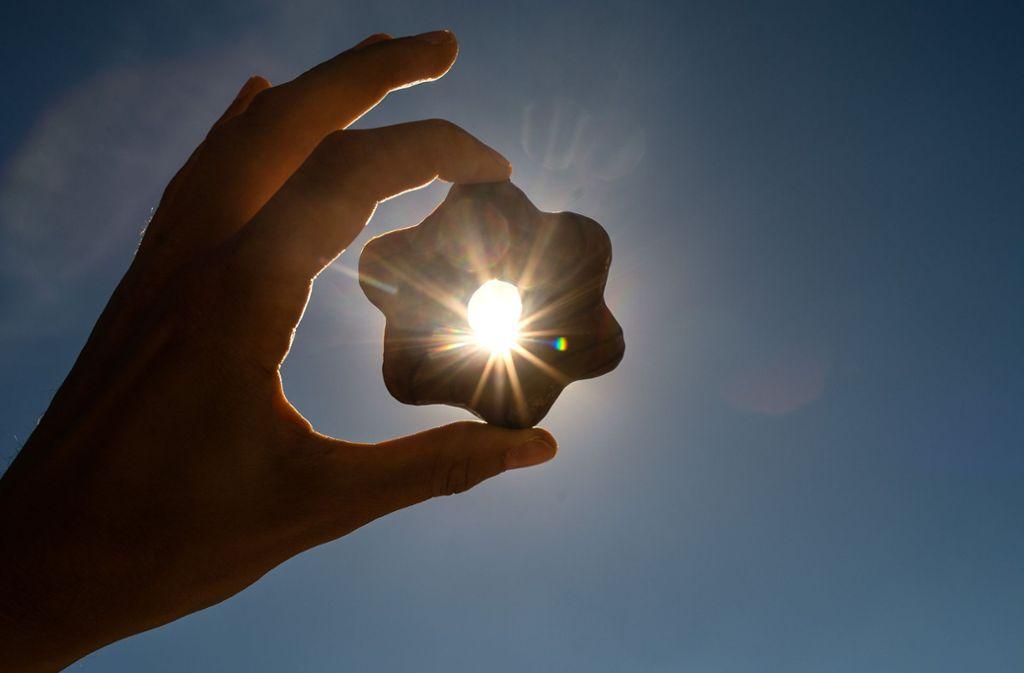 Der Winter glänzt die nächsten Tage mit viel Sonne. Foto: dpa
