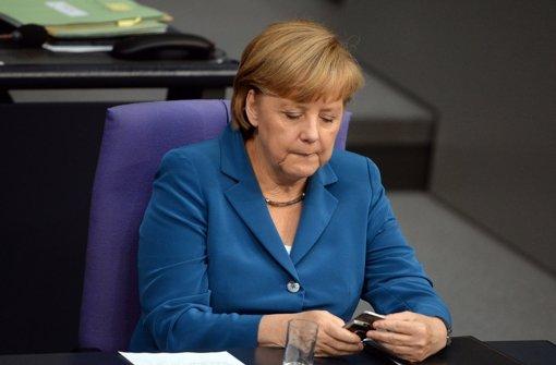 NSA-Affäre trifft Merkel ins Mark