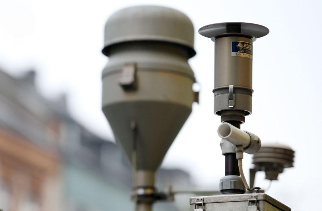 Die Luftqualität in Stuttgart ist ein Dauerbrenner. Foto: dpa