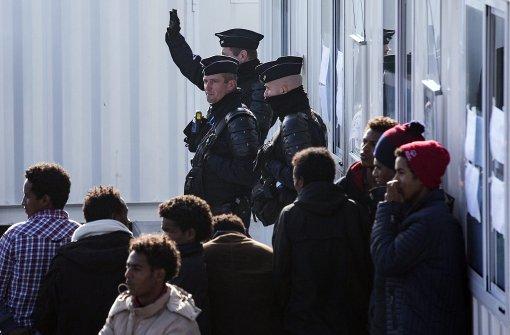 Ausschreitungen im Flüchtlingslager von Calais