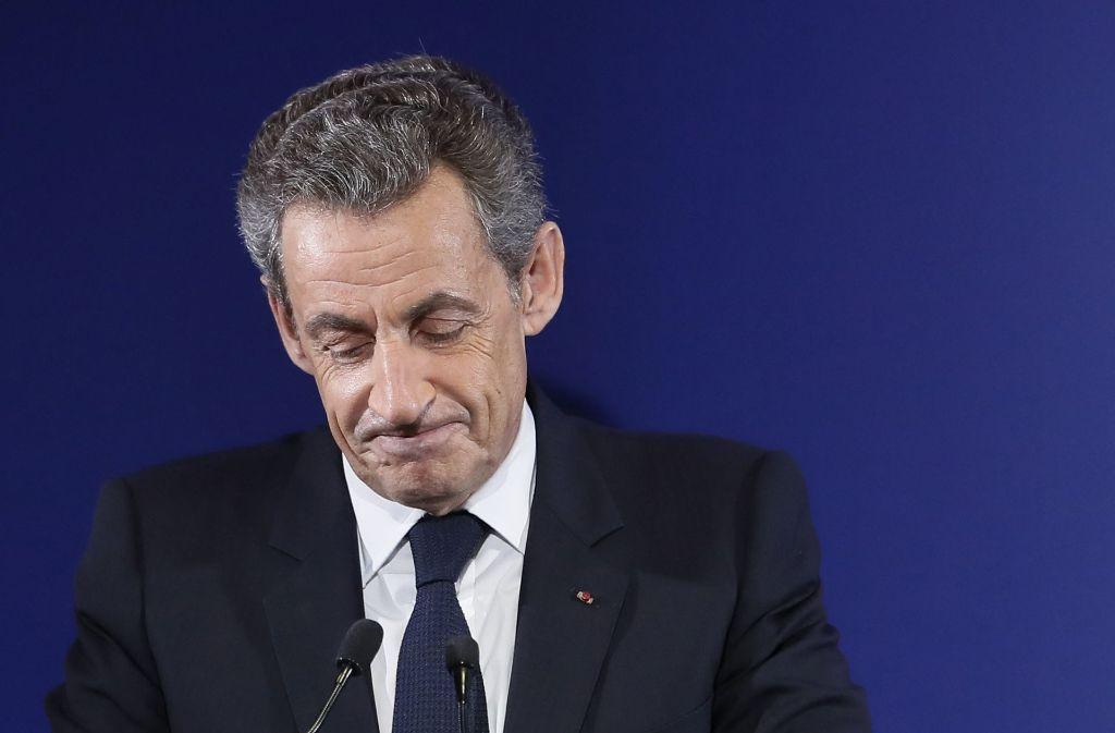 Nicolas Sarkozy soll 2012 sein Wahlkampfbudget überzogen haben. Foto: EPA POOL