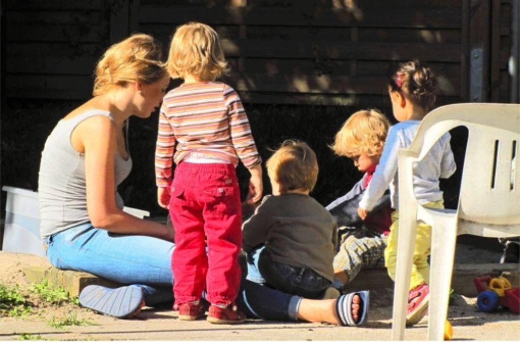 In der Krippe Kleinstein werden zehn Kinder betreut. Foto: