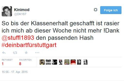 Rasur-Boykott für den VfB Stuttgart