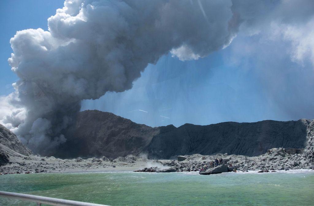 Nach Vulkanausbruch auf White Island: Neuseeländische ...
