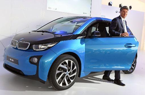 BMW fällt hinter Daimler und Audi zurück