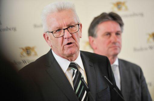 """Kretschmann: """"Es gilt nach wie vor Alarmstufe Rot"""""""