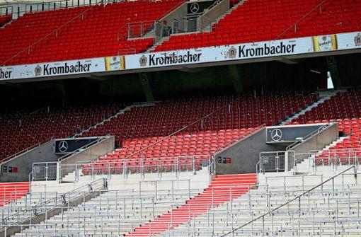 Leipzig vor 8500 Fans, der VfB vor nur 500
