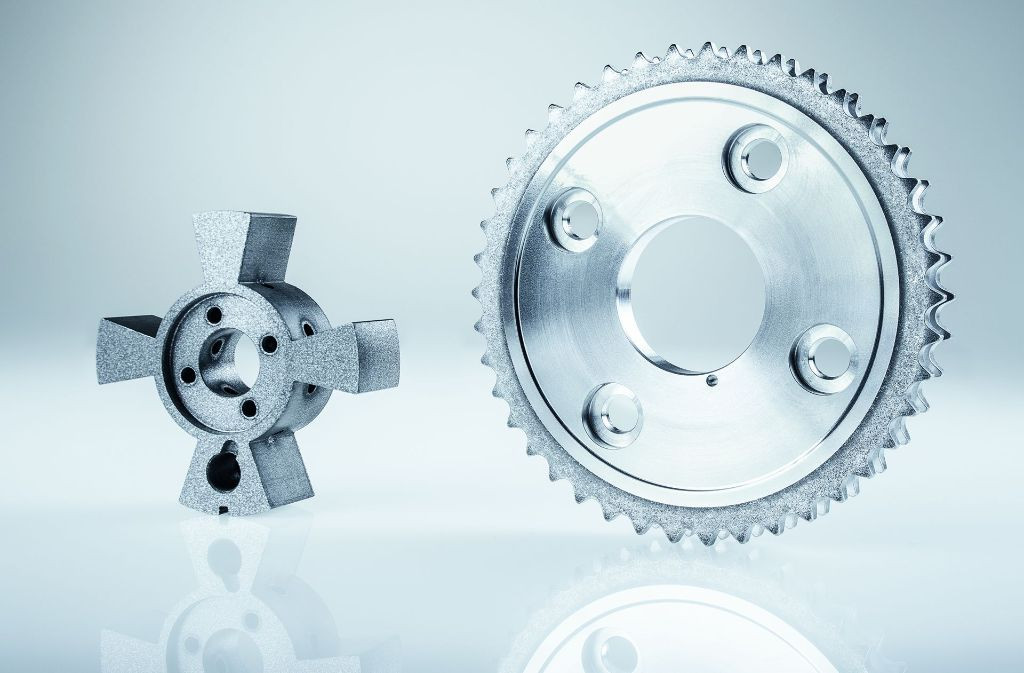 Ein Kettenrad aus Aluminium – das sind Teile, die SHW fertigt. Foto: SHW
