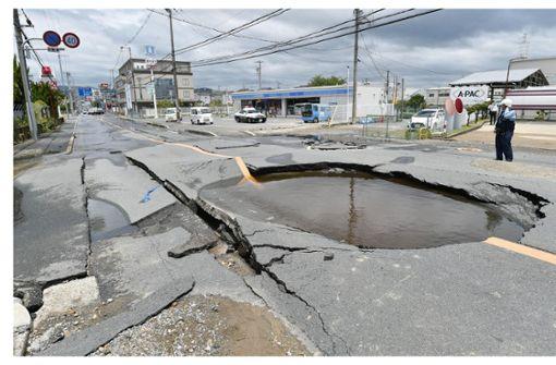 Drei Tote und über 210 Verletzte bei Erdbeben