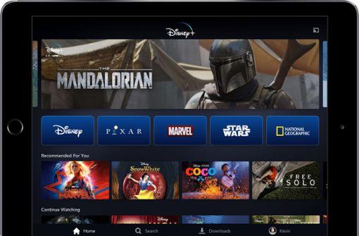 Disney startet eigenen Dienst im November