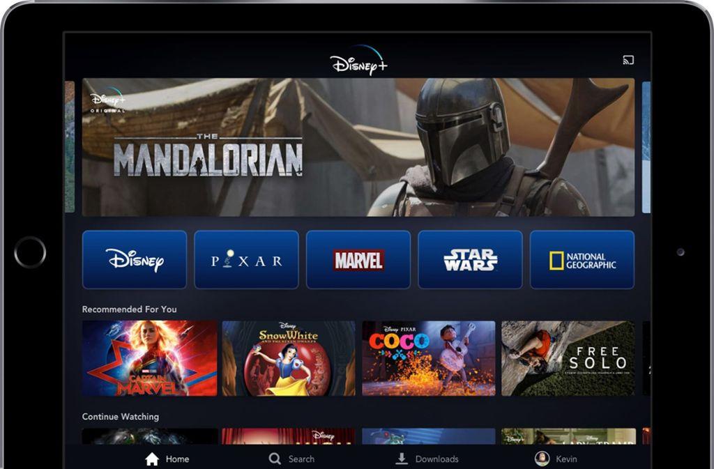Disney lockt die Kunden mit einem Preis von 6,99 Dollar auf seinen eigenen Streamingdienst. Foto: Disney