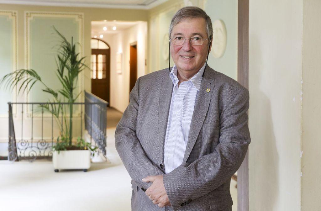 Horst Etzel verlässt das Hemminger Rathaus nach mehr als vier Jahrzehnten. Foto: factum/